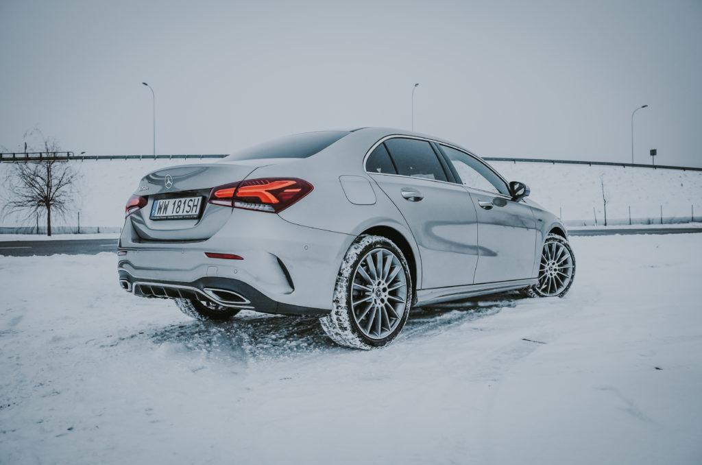 Mercedes A250e (fot. Krzysztof Kaźmierczak / automotyw.com)