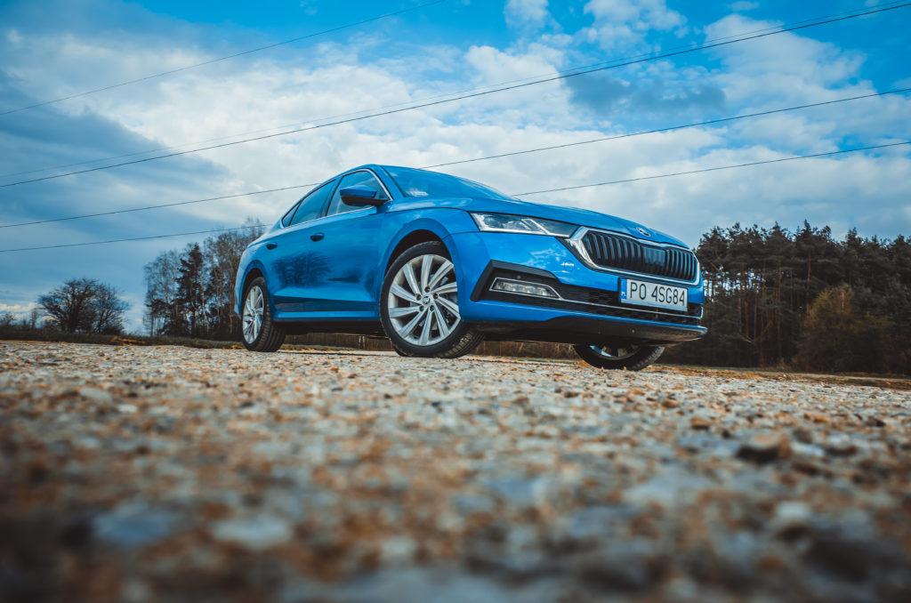 ŠKODA OCTAVIA iV liftback (fot. Krzysztof Kaźmierczak / automotyw.com)