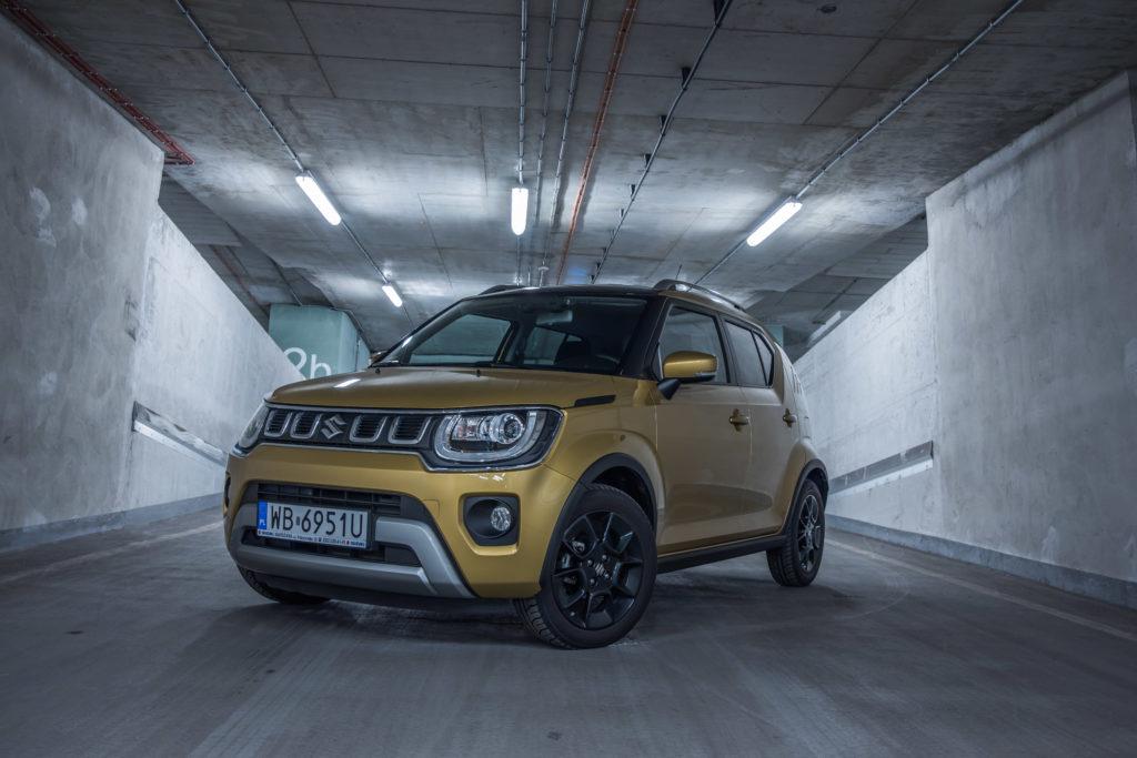 Suzuki Ignis (fot. Krzysztof Kaźmierczak / automotyw.com)
