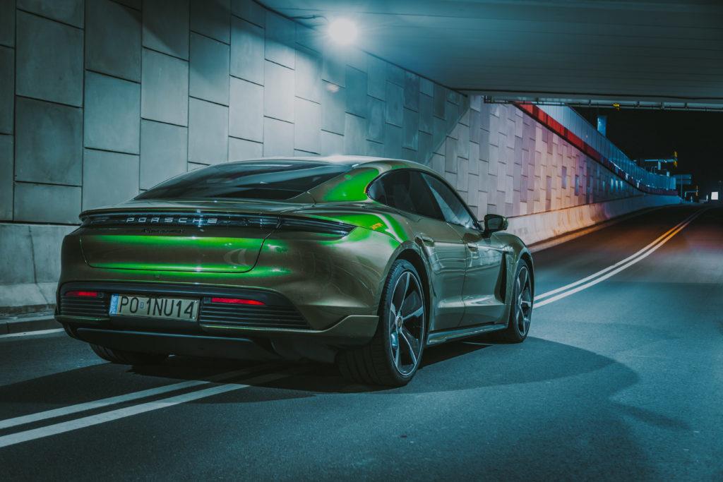 Porsche Taycan (fot. Krzysztof Kaźmierczak - automotyw.com)