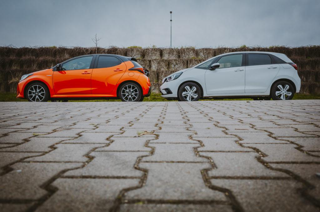 Yaris i JAZZ (fot. Krzysztof Kaźmierczak - autmotyw.com)
