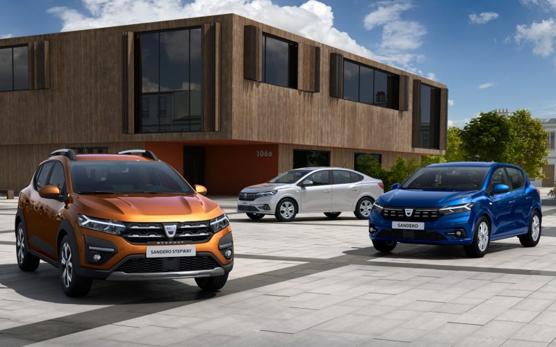 Dacia Sandero, Dacia Sandero Stepway, Dacia Logan