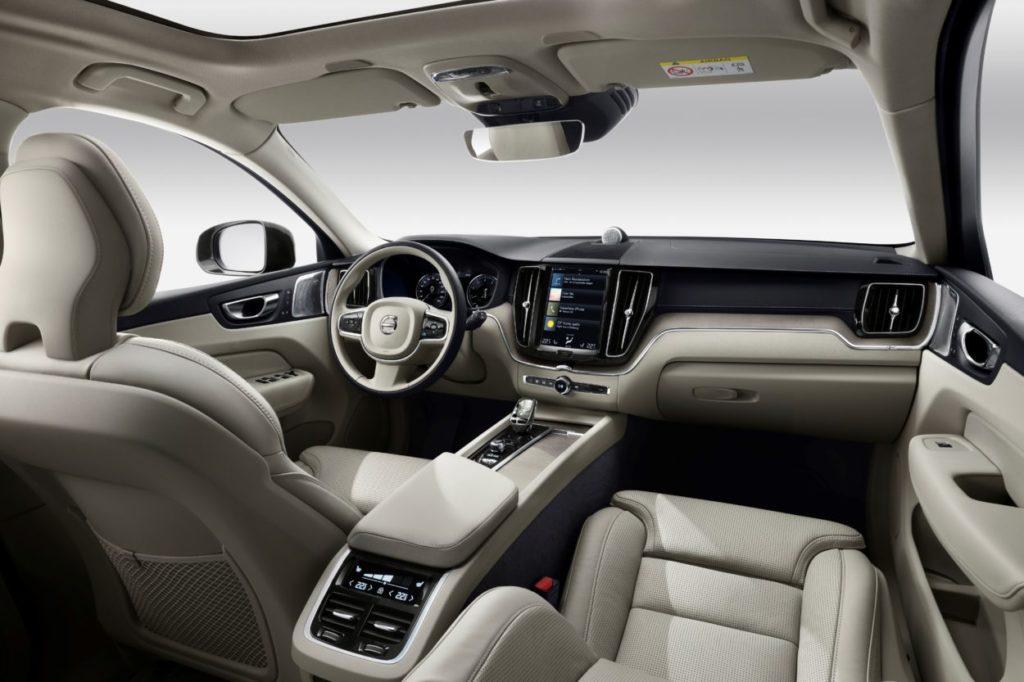 Volvo XC60 - wnętrze