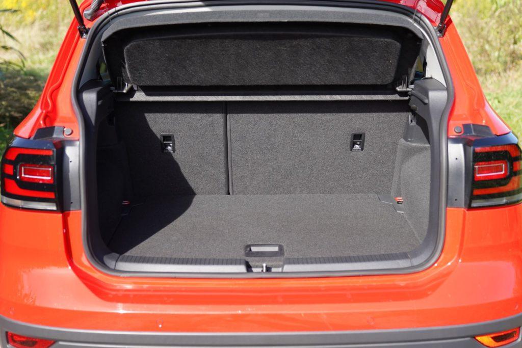VW T-Cross bagażnik