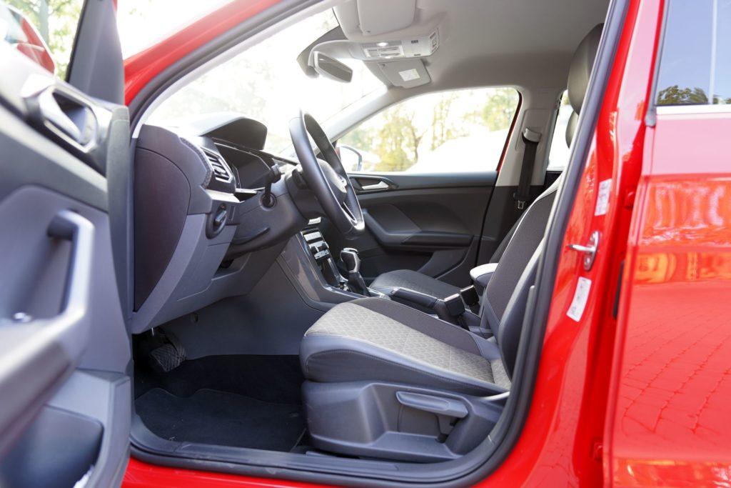 VW T-Cross wnętrze