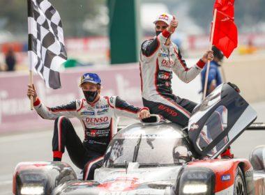 Zwycięska Toyota TS050 Hybrid LMP1 24h Le Mans 2020