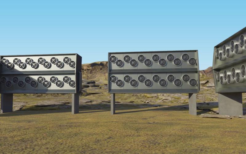 Instalacja Climeworks na Islandii