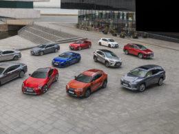 gama modeli Lexus