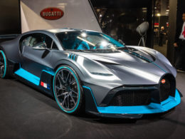 Bugatti Divo na Paris Motor Show 2018