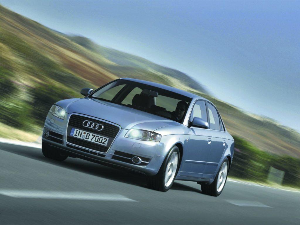 Audi A4 - lider importu używanych samochodów