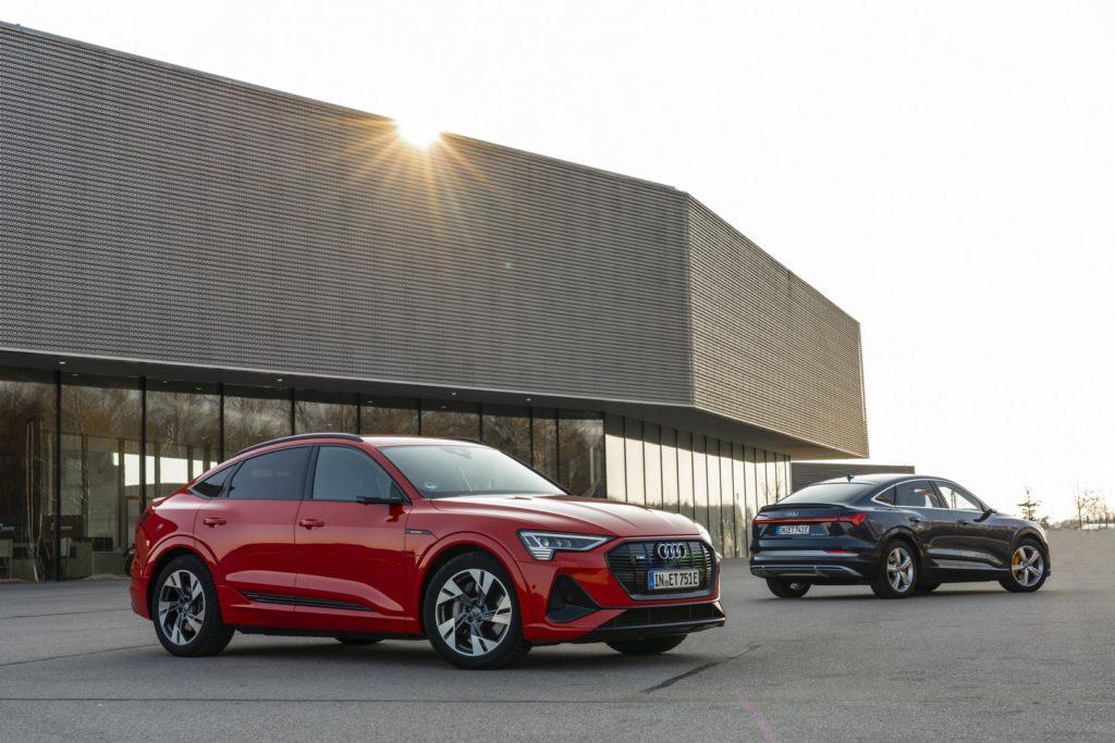 Audi e-tron S nadwozie