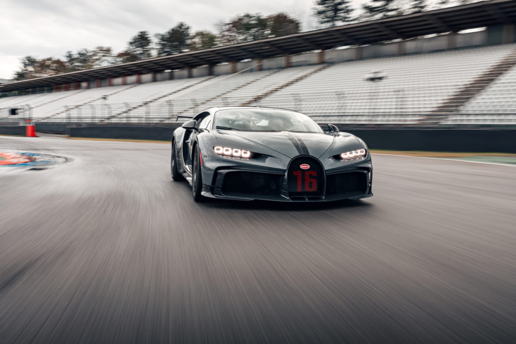 Bugatti Chiron Pur Sport dynamika