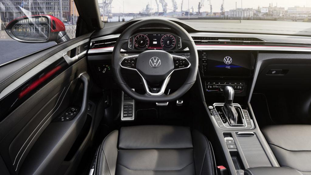 Wnętrze Volkswagen Arteon