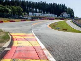 Eau Rouge Spa Francorchamps podjazd