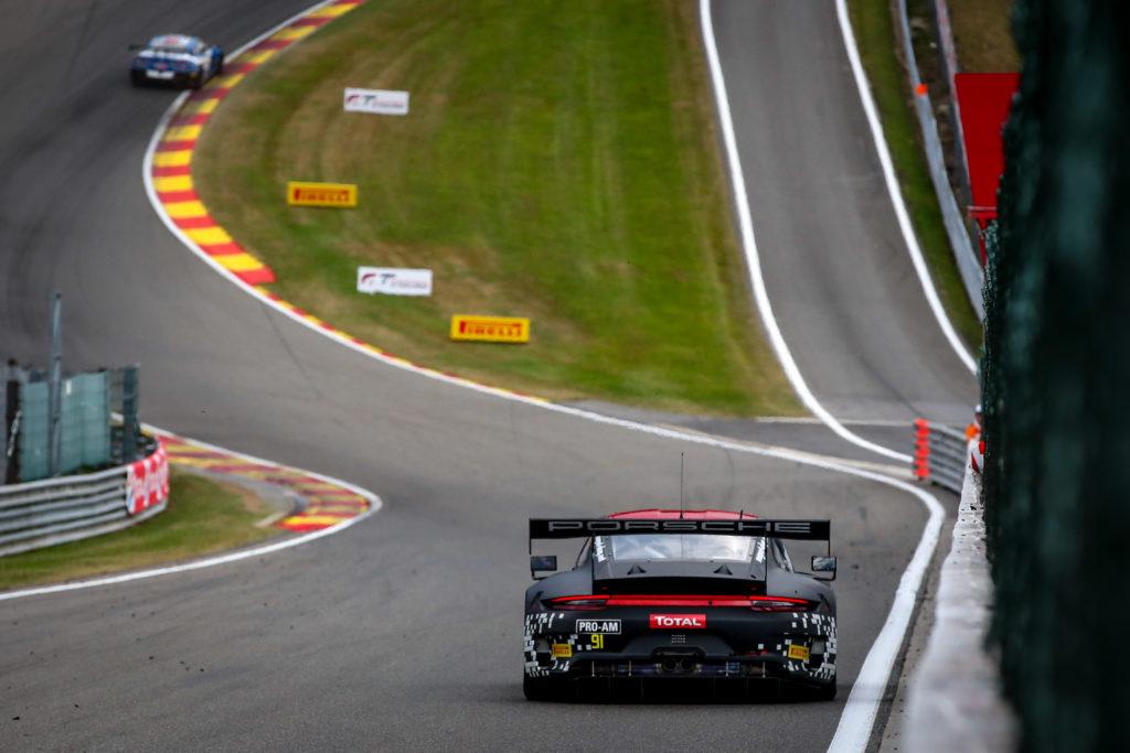 Eau Rouge Spa Francorchamps Porsche