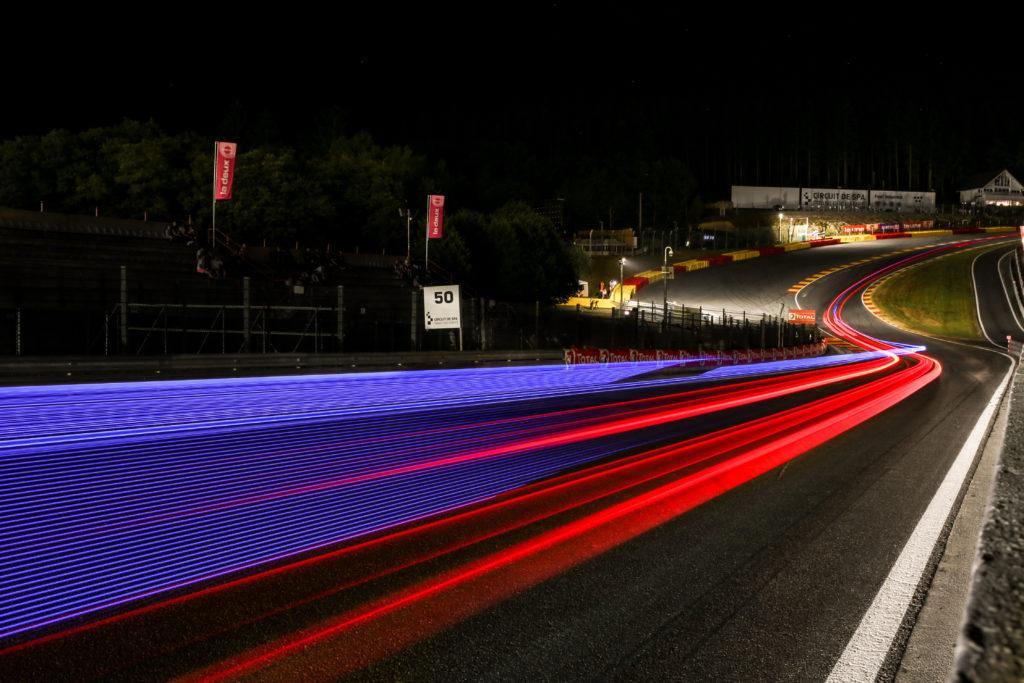 Eau Rouge Spa Francorchamps noc