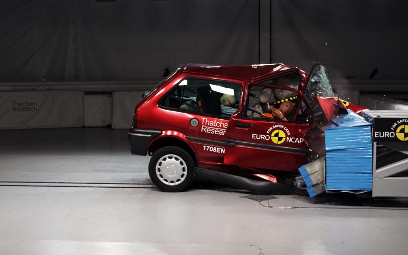 Rover 100 Euro NCAP