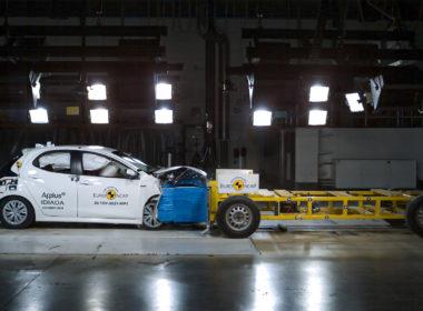 Euro NCAP Toyota Yaris