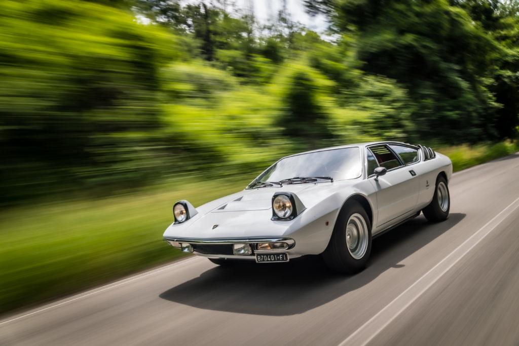 Lamborghini Urraco dynamika