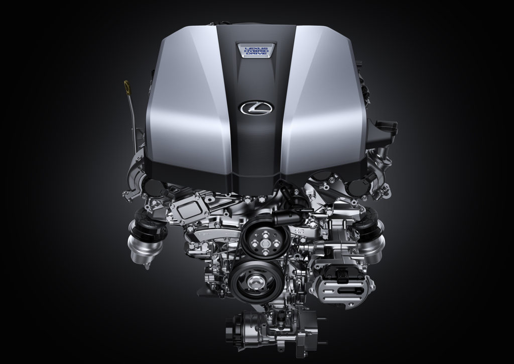 silnik Lexus hybrydowy