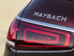 Mercedes Maybach GLS 600 4MATIC napis