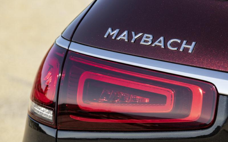 Mercedes Maybach GLS 600 4MATIC napis