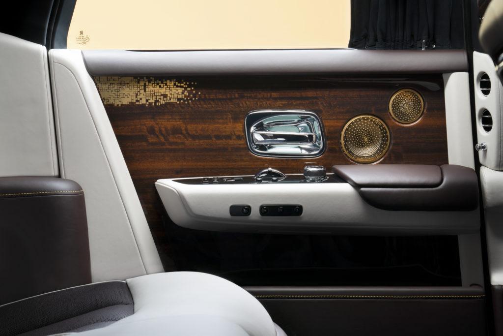 Rolls Royce Bespoke Audio głośniki