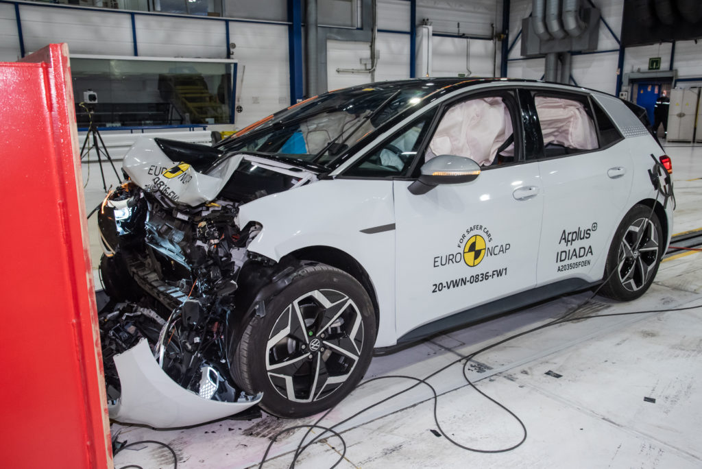 VW ID.3 Euro NCAP test
