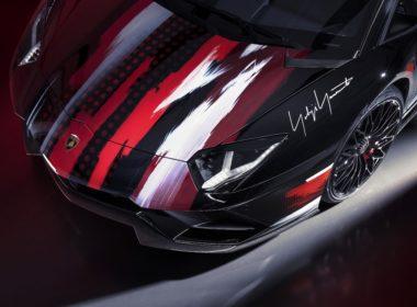 Lamborghini Aventador S by Yohji Yamamoto przód
