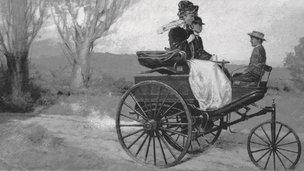 Bertha Benz jedzie