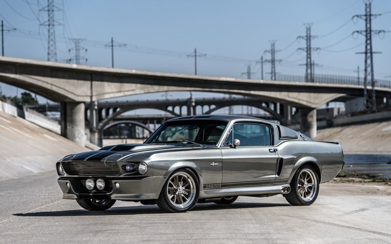 "Ford Mustang Eleanor z filmy ""Gone in sixty second"""
