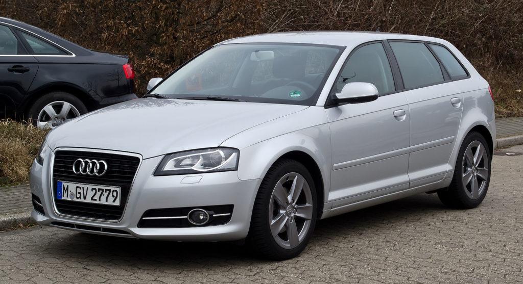 Audi A3 z 2010 roku