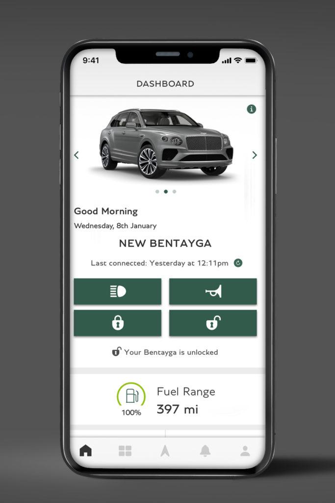 Aplikacja My Bentley