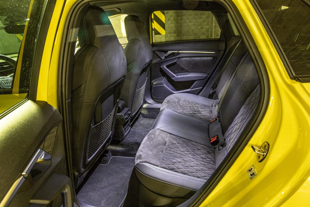 Tylna kanapa w Audi A3