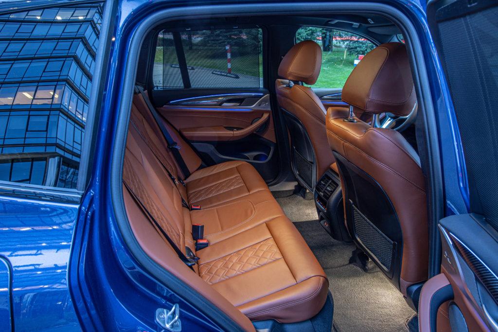tylna kanapa BMW X3