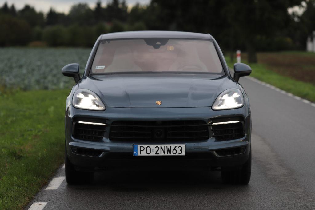 Porsche Cayenne Coupe przód