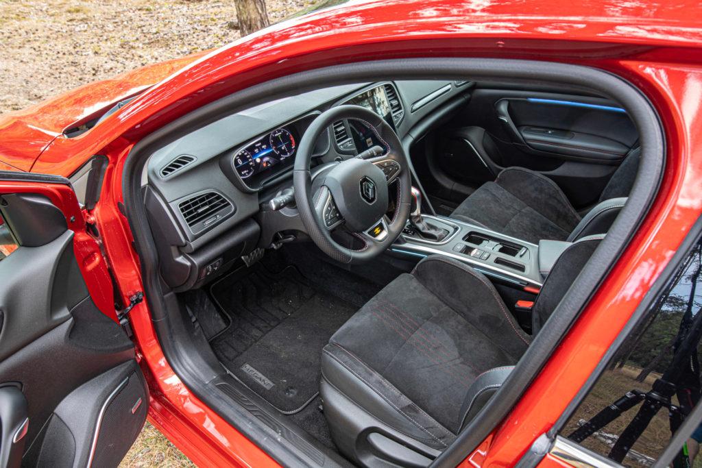 Renault Megane wnętrze