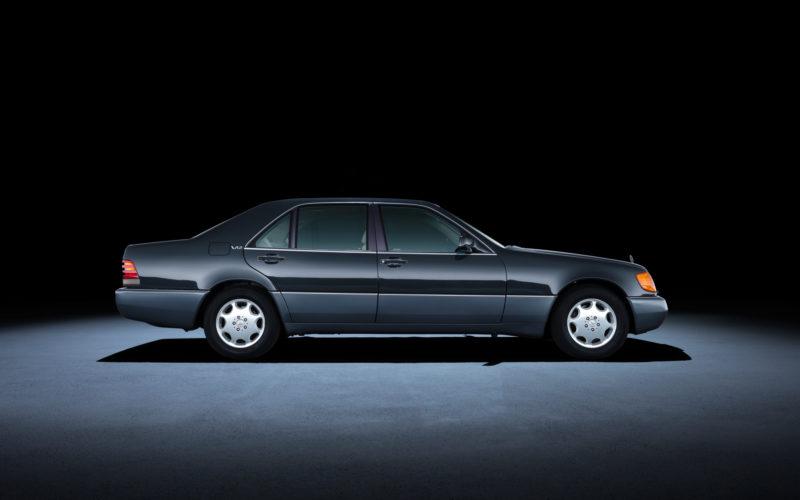 Mercedes W140 profil
