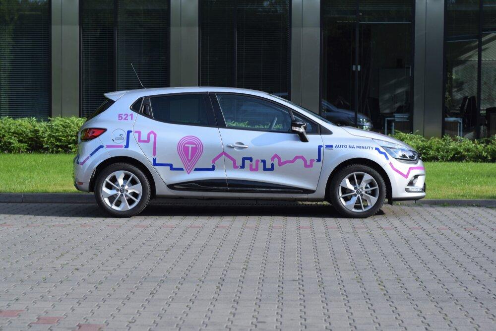 Renault Clio flota Traficar