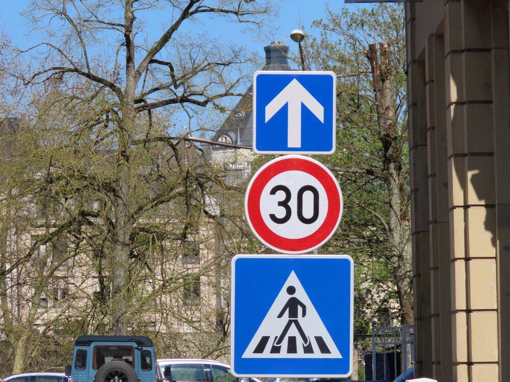 Strefa z ograniczeniem 30 km/h