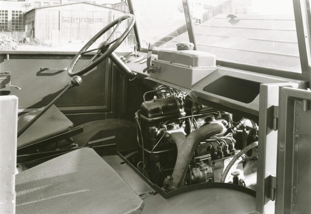 Motor OM 636 von Daimler-Benz 1950