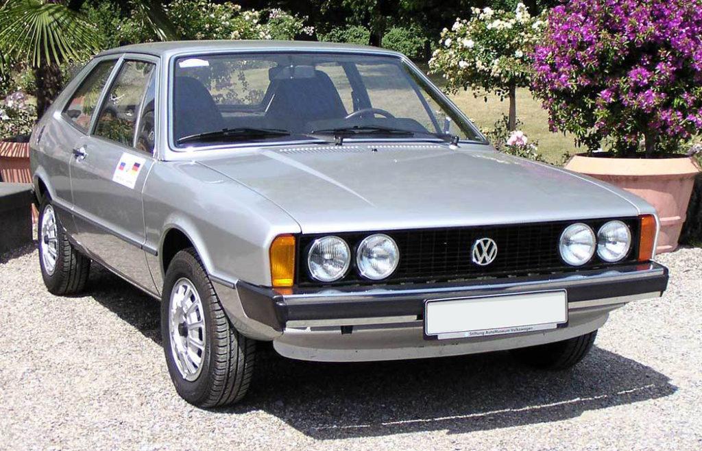 Volkswagen Scirocco pierwszej generacji
