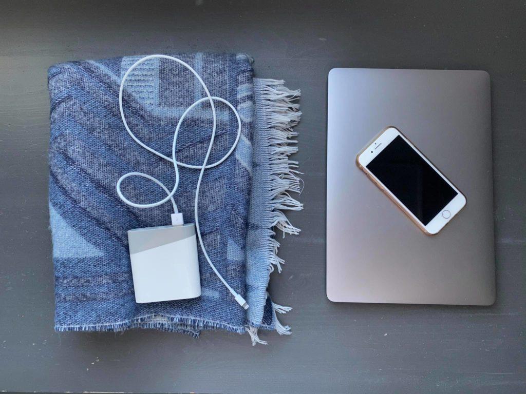 laptop telefon ładowarka powerbank