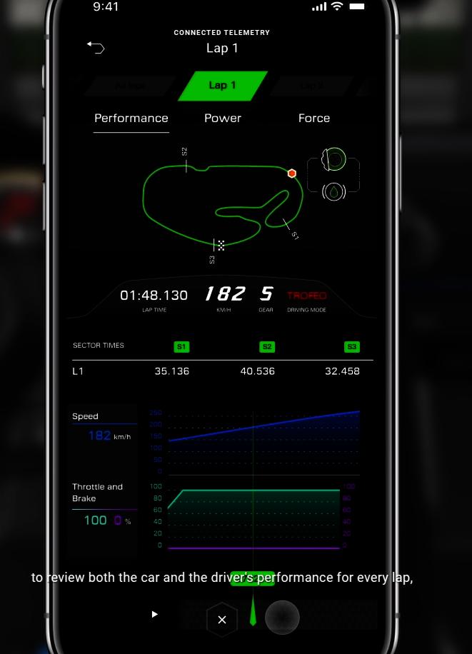 Aplikacja do Lamborghini Huracán STO