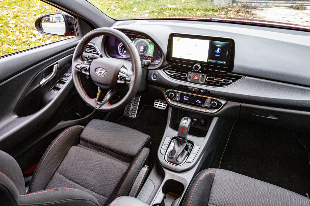 wnętrze Hyundai i30