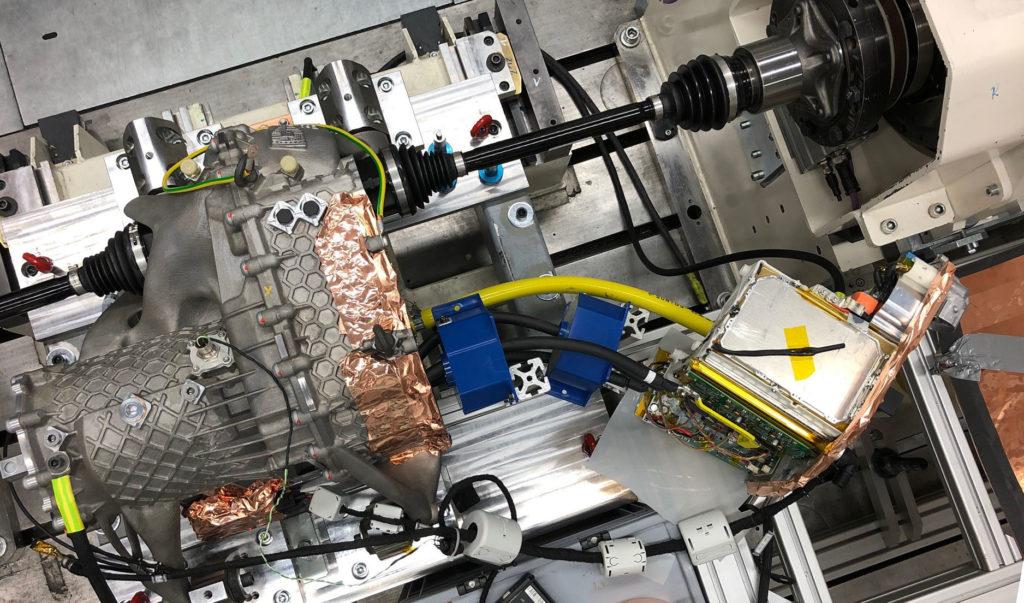 Porsche druk 3D silnik elektryczny