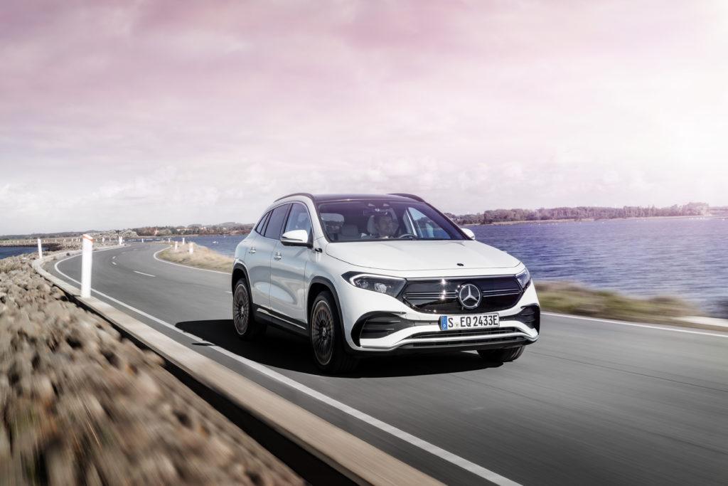 Mercedes-Benz EQA (fot. materiały prasowe producenta
