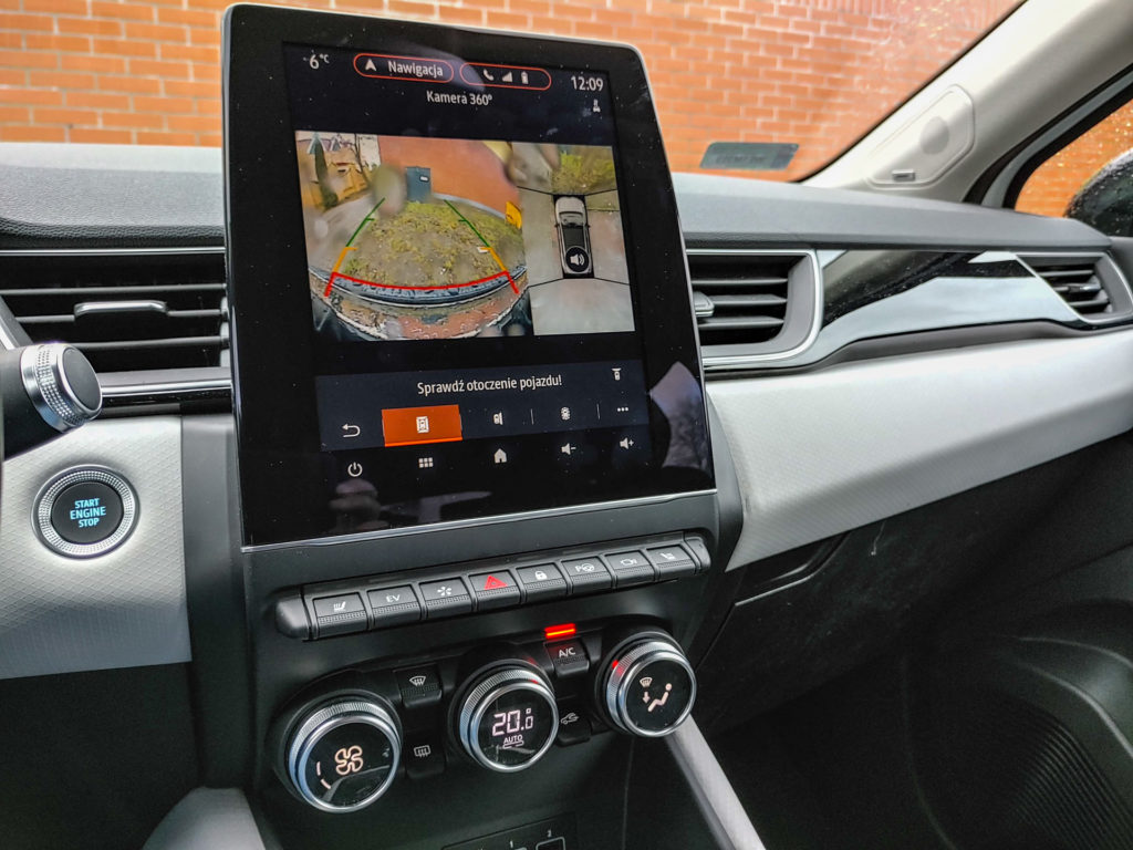 Systemy wsparcia kierowcy - wspomaganie parkowania i manewrów