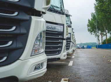 Ciężarówka truck DAF