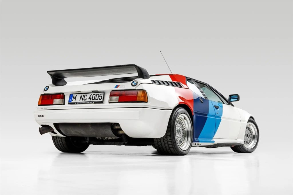BMW M1 Paul Walker (fot. BaT)